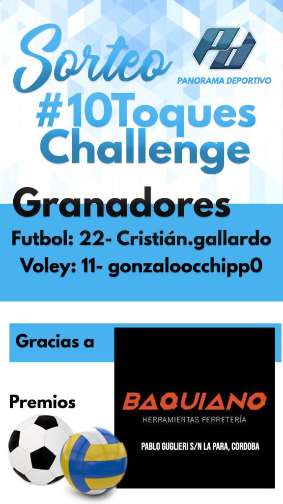 Sorteo #10ToquesChallenge